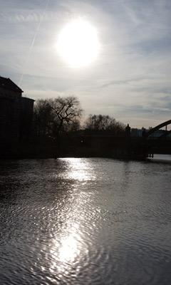 Ein sonniger Tag an der Spree, Berlin